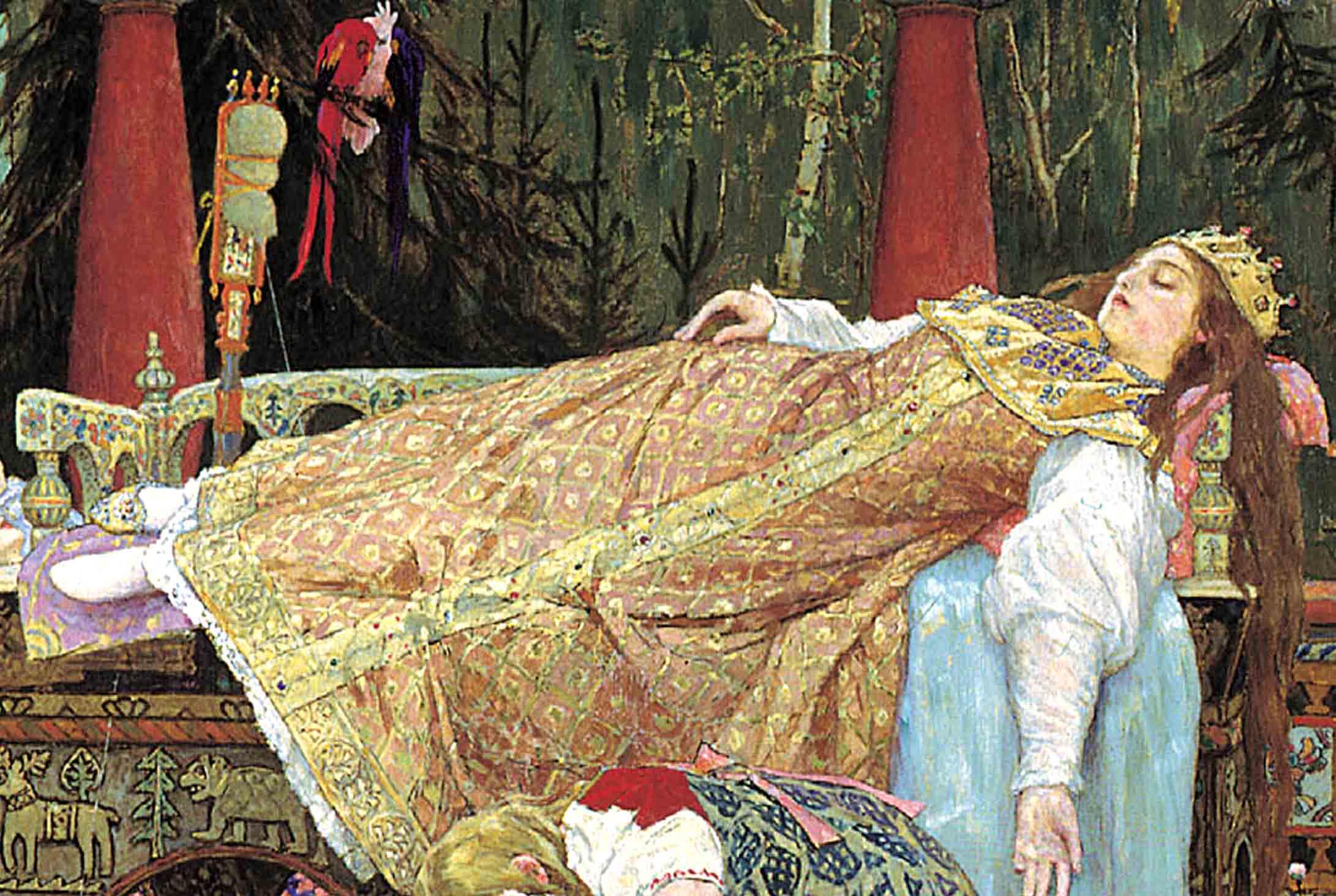 Спящая красавица текст 10 фотография